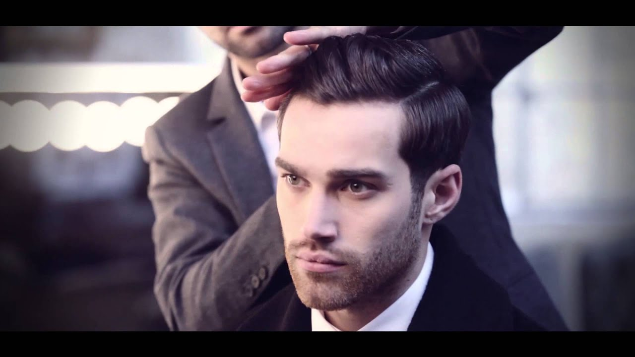 How To Create The Mens Ultra Sleek Wet Look Youtube