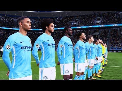 Manchester city vs swansea | premier league 22 april 2018 gameplay
