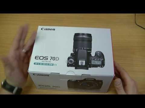 Обзор Canon EOS 70D Kit.  Распаковка / Unboxing.  Veryvery.ru.