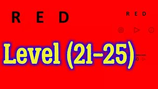 red Level 21 22 23 24 25 Bart Bonte Game Android iOS