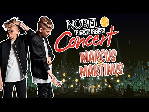 Marcus & Martinus | The 2016 Nobel Peace Prize Concert | Without you & Bae