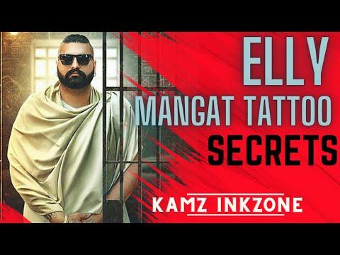 Elly Mangat Getting Inked | Tattoo | Kamz Inkzone baby | I M INKED 2018