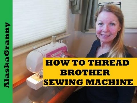 How to thread brother xl 2600 sewing machine youtube for Machine a coudre xl 2600 brother