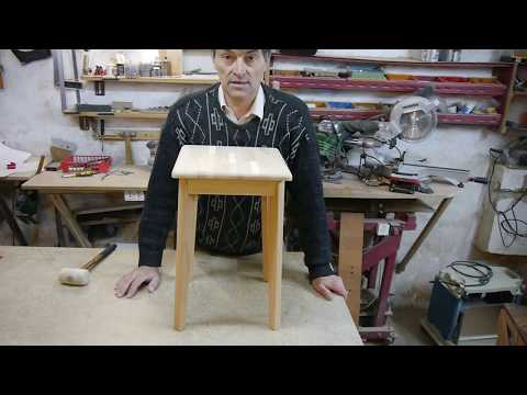 Легкий стул из бука. Chair from a beech.