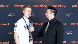 #16 Laurie Caudwell Interview; V-Drums World Championship 2012