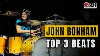 3 John Bonham Drum Beats Every Drummer Should Know | John Bonh…