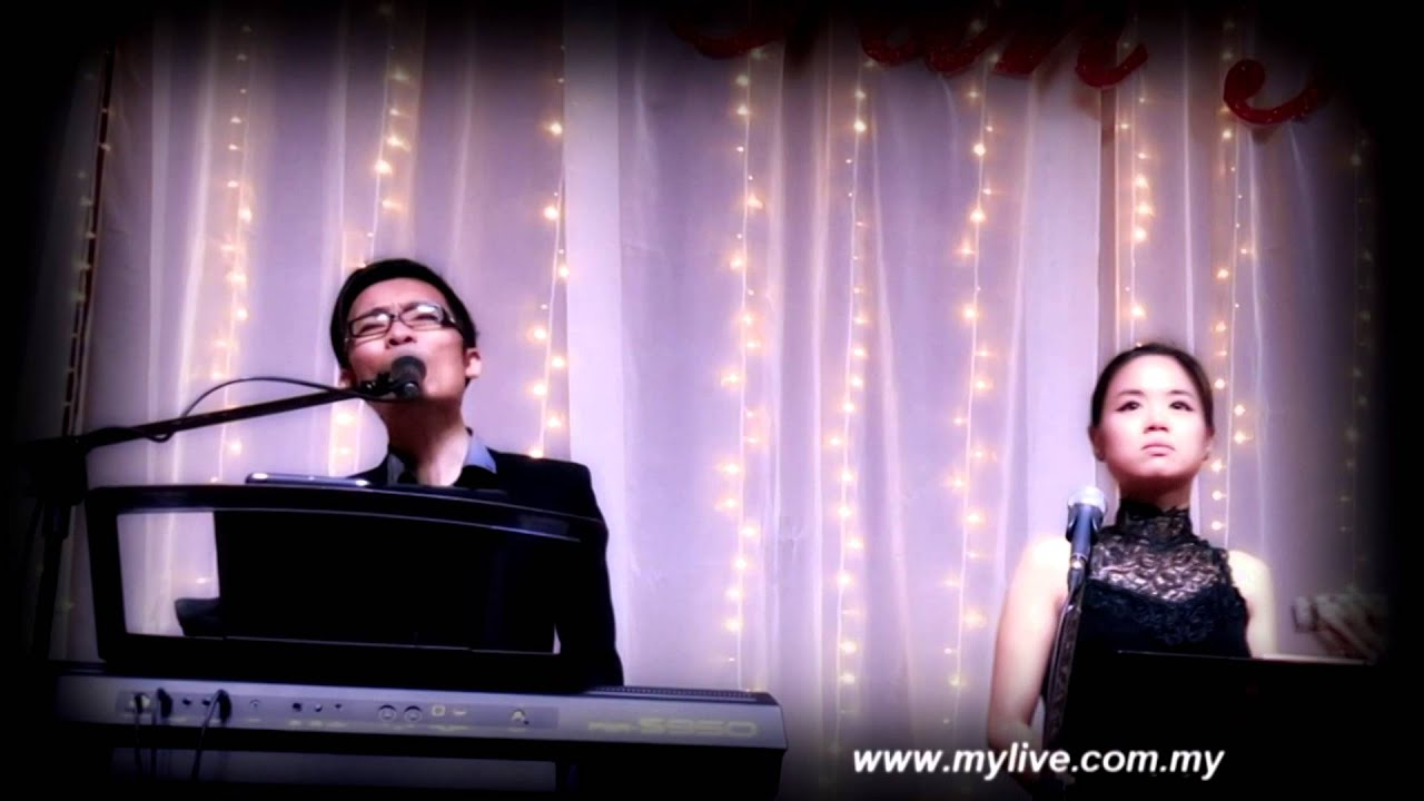 Malaysia Wedding Live BandKau IlhamkuMylive EntertainmentFeaturing Nick Shze
