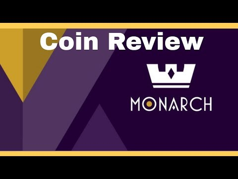 Monarch (MTS/MT) - Coin Review   Universal Wallet, Recurring Payments And Silver-Backed Tokens!