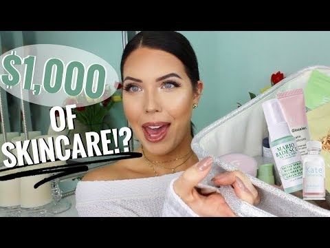 SKINCARE COLLECTION & DECLUTTER! $1,000 of Drugstore & High End Skincare –What Worked & What Didn't