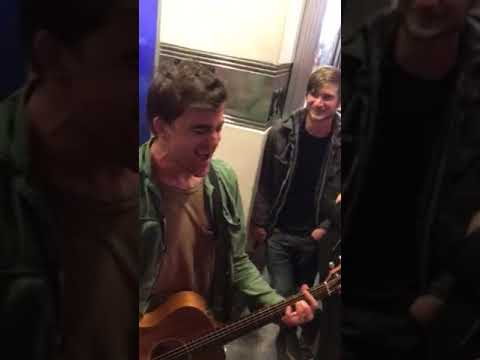 After show Anthony Green acoustic set Dying to Reach You