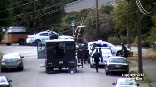 RAW Video: Lynnwood Police Department/Multi-Law Enforcement Assist Standoff 09/29/2012