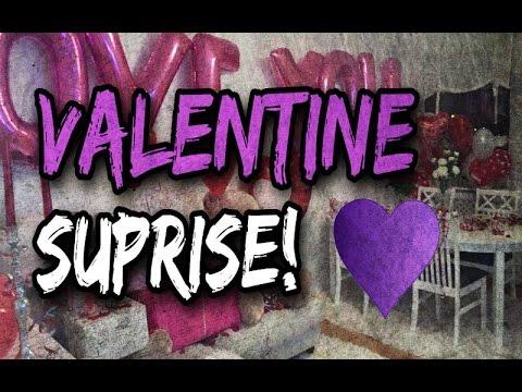 Valentines surprise