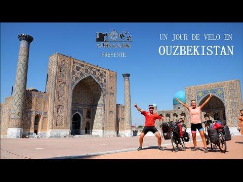 Un jour de vélo en Ouzbekistan - A cycling day in Uzbekistan (ENGsubs)
