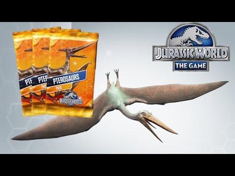 Pterosaur Terror - Packs Opening - Jurassic World The Game