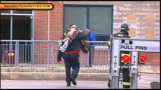Barnstable High School Fire in Wood Shop (04-01-11)