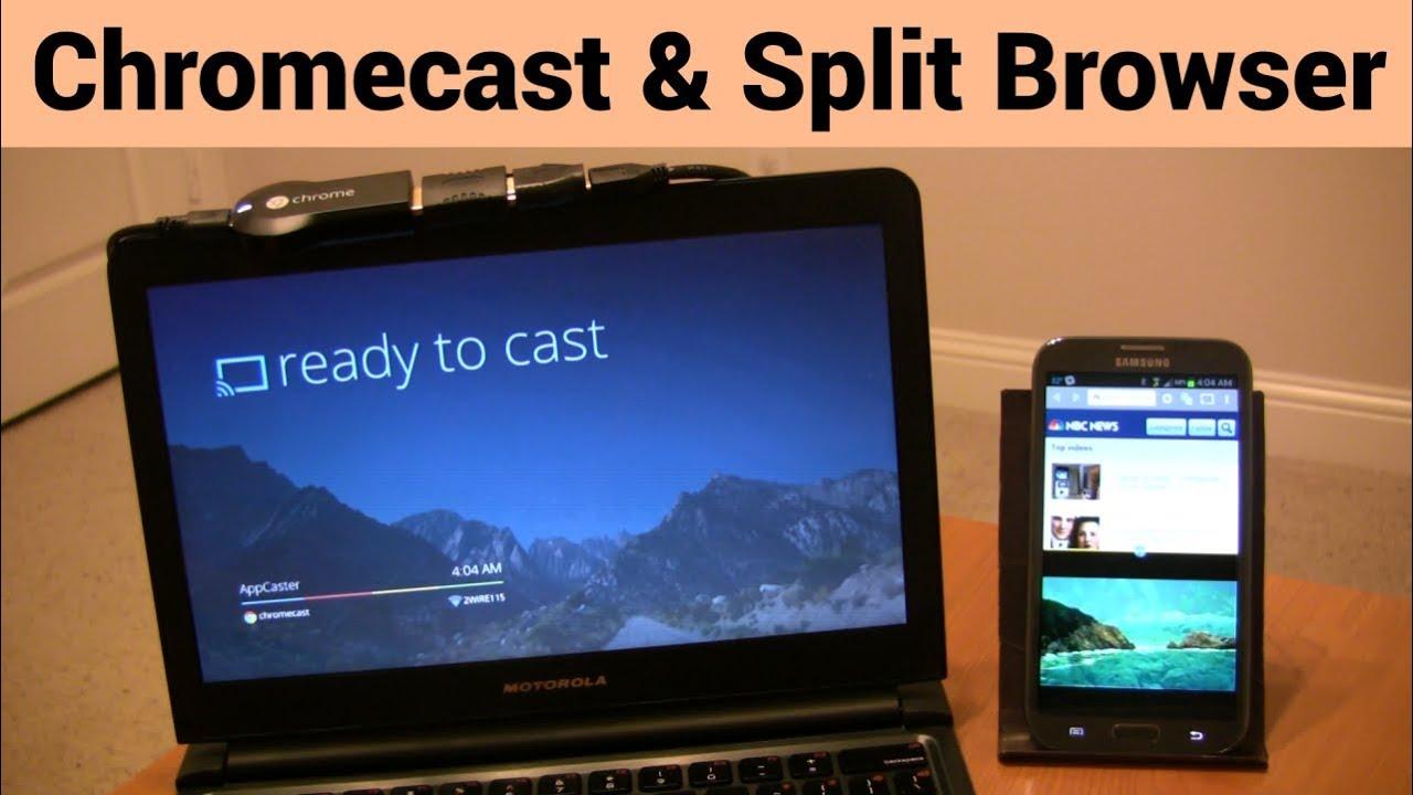 Chromecast Browser