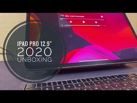 "Apple iPad Pro 12.9"" 512GB Wifi Cellular 4th Gen Unboxing 2020"