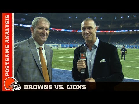 Browns Vs. Lions: Postgame Analysis | Cleveland Browns