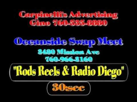 Oceanside Swap Meet Show de Pesca con Radio Diego 99.3fm