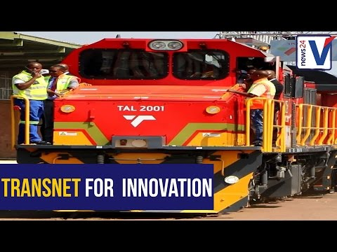 Transnet launches Trans Africa Locomotive in Pretoria