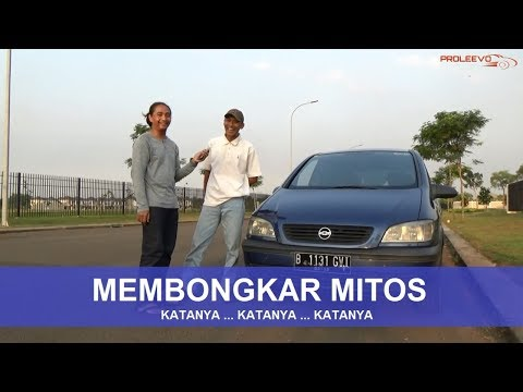 Mobil Nyaman Separuh Harga Datsun Go Chevrolet Zafira 2002 Youtube