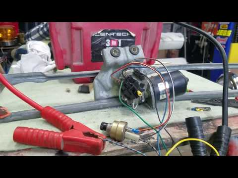 Wiring A Wiper Motor With 2 Speeds And Park!