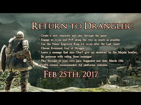 [LIVE] Return to Drangleic | Fresh character | SOTF [PC]