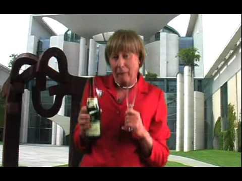 Angela Merkel gratuliert  beschwipst zum Geburtstag
