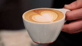 How to Make a Latte Art Heart | Perfect Coffee
