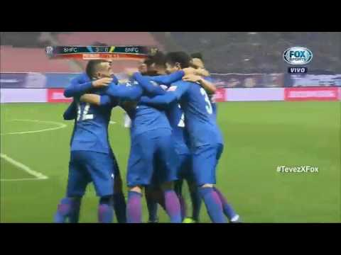 Shanghai Greenland Shenhua 4-0 Jiangsu Suning | Superliga China 2017