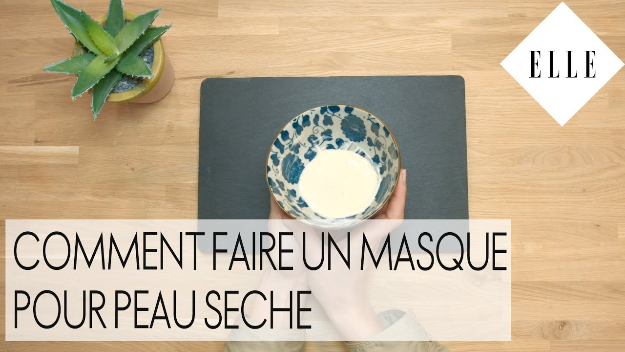 diy comment faire un masque pour peau s che i elle beaut youtube. Black Bedroom Furniture Sets. Home Design Ideas