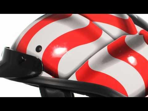 Outlaw T70 American Flag DOT Half Helmet At LeatherUp.com