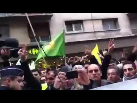 3 tote Kurdinnen in Paris  Kurzfristige Demo ROJ NEWS AGENCY