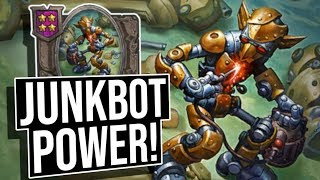 Junkbot POWER! | Battlegrounds | Hearthstone