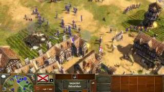Age of Empires 3 Demo Version - Conquest of a city