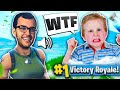 TROLLING KID WITH A GIRL VOICE CHANGER! (Fortnite Funny Moments)