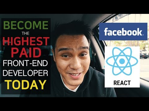 Become The Highest Paid Front-End Software Developer Today | Learn React