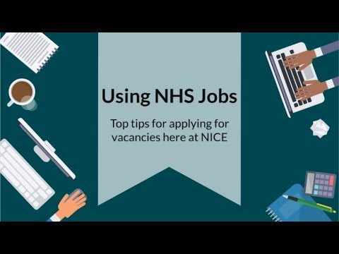 Top Tips For Using NHS Jobs