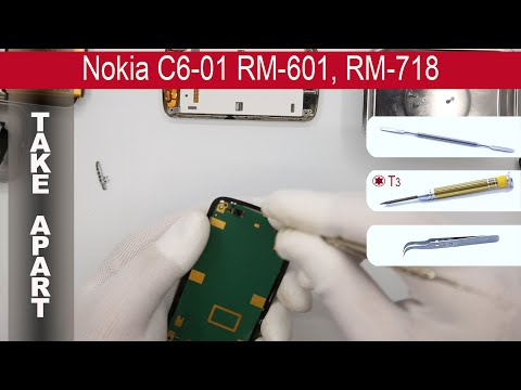 How to disassemble 📱 Nokia C6-01 (RM-601), Take Apart
