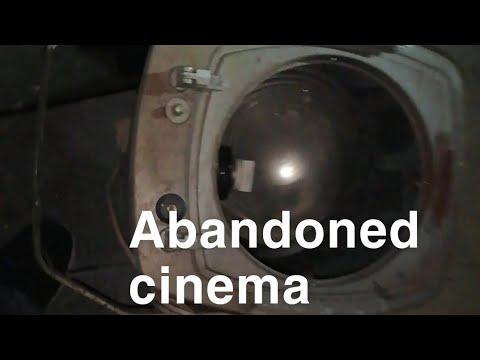 Abandon cinema urban exploring Portsmouth
