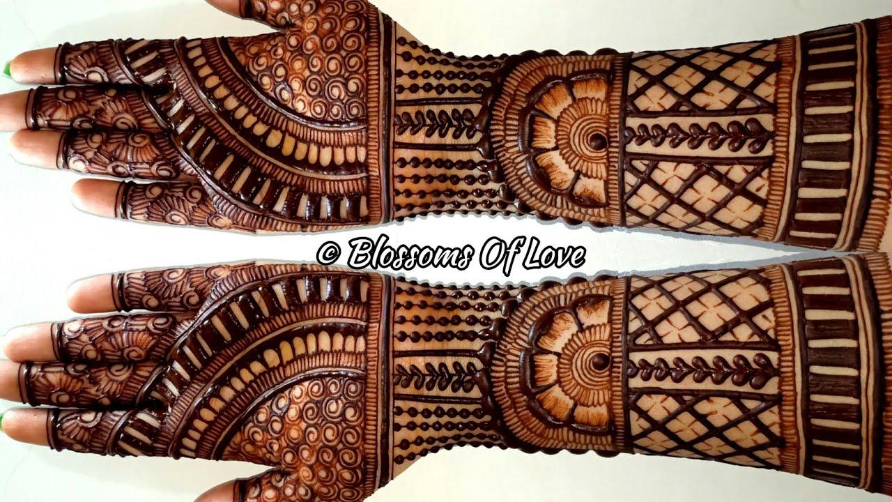 Engagement/Wedding/Full hand Mehendi Design|Easy Mehandi Design for Wedding 2020