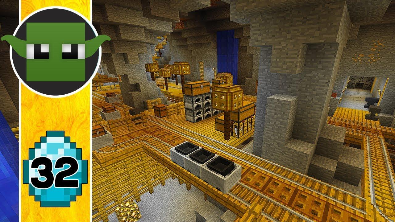 Minecraft Mine - Transform a Minecraft Village into a Town E32 - YouTube