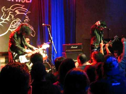 guitar wolf - 3 songs live