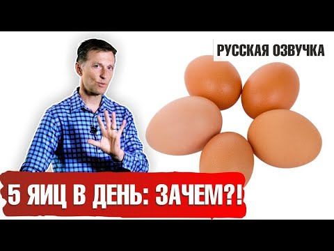 Кето продукты. ЯЙЦА: СКОЛЬКО МОЖНО? (русская озвучка)