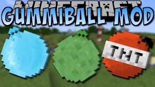 Minecraft GUMMIBALL MOD (TNT-Ball, Gold-Ball, Ei-Ball) [Deutsch]
