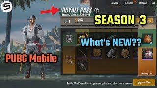 PUBG Mobile SEASON 3 Update- What