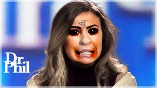 Dr. Phil RAGES After She......