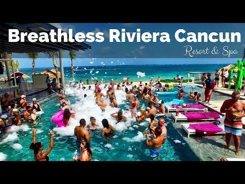 Breathless Riviera Cancun Resort & Spa Experience