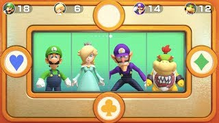 Super Mario Party - Free-for-All-Minigames (Luigi Gameplay) | MarioGamers