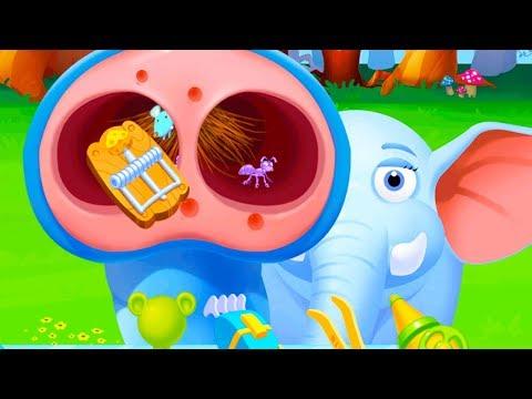 Fun Jungle Animal Care Kids Games - Save The Jungle Animals - Jungle Doctor Games For Kids